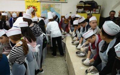 """Compito di realtà """"Pane, scuola e fantasia"""". Gli alunni dell'Istituto Brancati di Favara mettono le """"mani in pasta"""""""