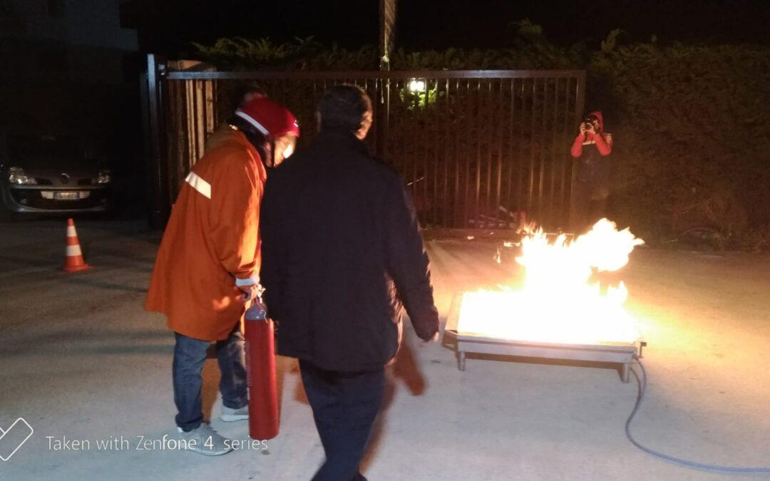 L'Istituto Brancati e il corso di formazione per addetti antincendio, ai sensi del D.lgs 81/2008