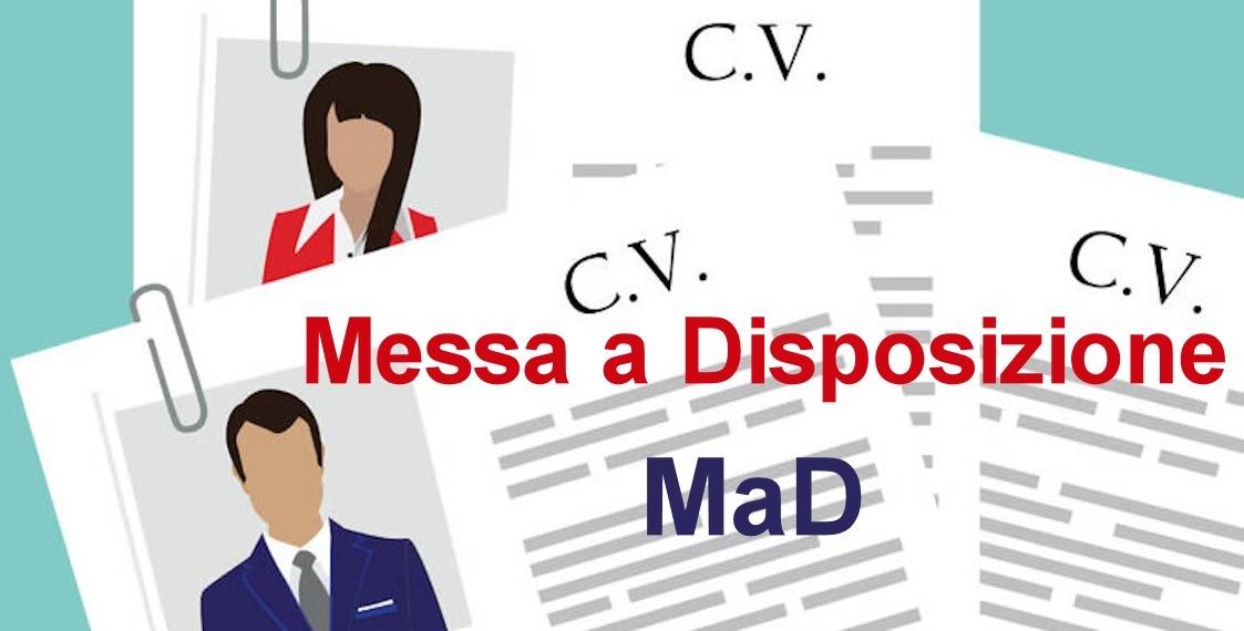 MAD – Messa a Disposizione 2021-2022