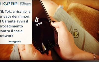 Tik Tok, a rischio la privacy dei minori: il Garante avvia il procedimento contro il social network